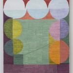 Matt Phillips Bungalow (spring) , 2015 Silica and Pigment on Linen 58.5 x 48 in private collection
