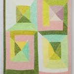 Matt Phillips Slow Dance, 2015 Silica and Pigment on Linen 58.5 x 48 in