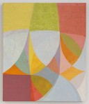 Matt Phillips  Ravel, 2013 silica and pigment on linen 24 x 20 in collection of University of Maine Museum of Art