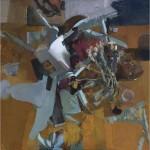 Sangram Majumdar Built to Spill, 2006 Oil On Canvas 46 x 46 in