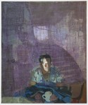 Sangram Majumdar Portrait Projected , 2011 Oil On Linen 50 x 42 in