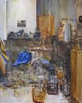 Gideon Bok PJ Harley Annunciation, 2001 Oil On Canvas 47 x 37 in