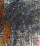 Gandy Brodie City Anguish, 1958 Oil On Canvas 84.25 x 72 in
