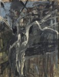 Gandy Brodie Apparition of an Olive Tree, 1955 Oil On Canvas 33.75 x 25.75 in