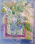 Peter LaBier Untitled, White Flowers, 2014 Oil On Canvas 20 x 16 in
