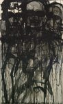 Lester Johnson  Untitled, #7, 1962  Oil On Paper 69 x 42 in