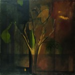 Bill Rice Tree, 1973 oil on canvas, 50 x 50 in