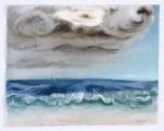 Paul MetrinkoEye of the Storm, 2016oil on paper12 x 15 in